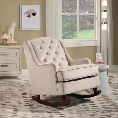 Abella Rocking Chair Upholstery: Dove Gray