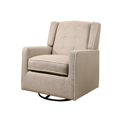 Crandell Swivel Glider with Piping