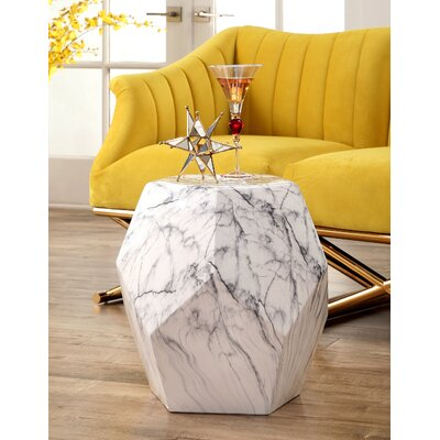 Sowell Garden Stool Color: White
