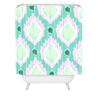 Allyson Johnson Bohemian Ikat Shower Curtain