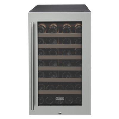 43 Bottle Refrigerator Single Zone Wine Cooler
