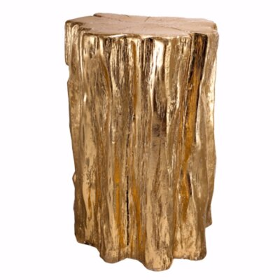 Grund Nature Inspired Tree Trunk Accent Stool