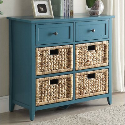 Bouley 6 Drawer Accent Chest Color: Blue