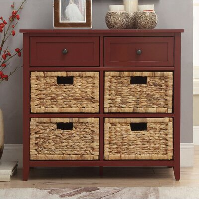 Bouley 6 Drawer Accent Chest Color: Brown