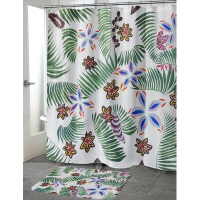 """Oberlin Palm Special Shower Curtain Size: 70"""" H x 72"""" W"""