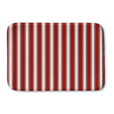 "Grenville Stripes Bath Rug Size: 24"" W x 36"" L"