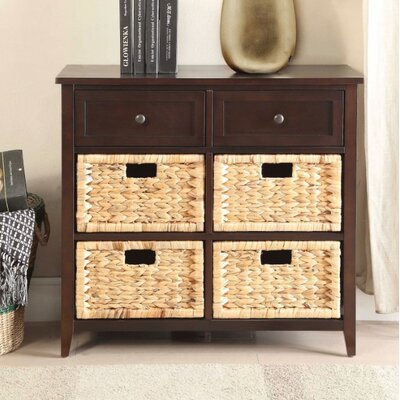 Bouley 6 Drawer Accent Chest Color: Espresso Brown