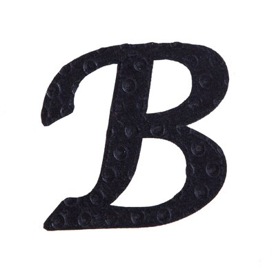 Musman Pin-on Embossed Felt Wall Letters Letter: B