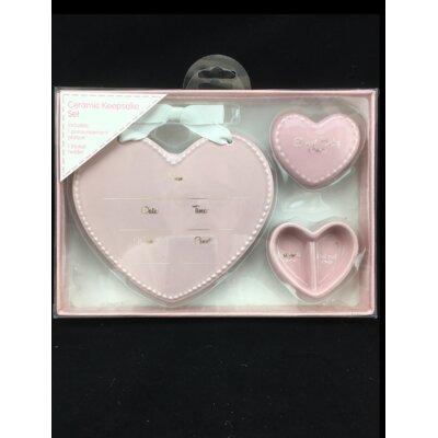 2 Piece Ceramic Keepsake Toy Box
