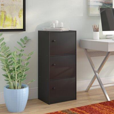 Alysa Storage Cabinet Finish: Black