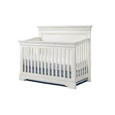 Crampton 4-in-1 Convertible Crib Color: Brushed White