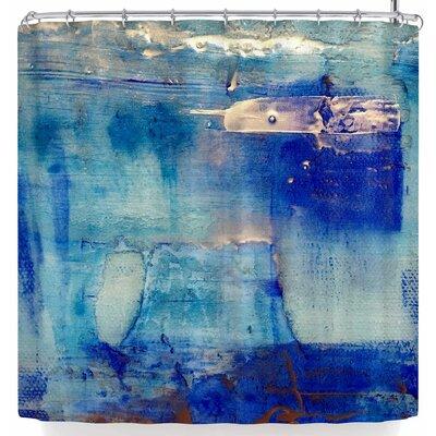 Malia Shields The Blues Shower Curtain