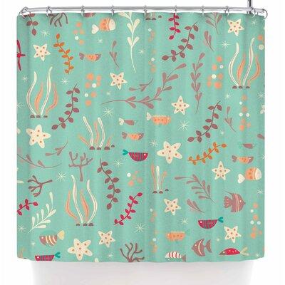 Bluelela Underwater Shower Curtain