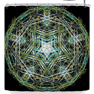 Frederic Levy-Hadida Mandala 3 Shower Curtain