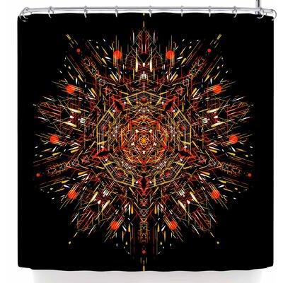 Frederic Levy-Hadida Mandala 1 Shower Curtain