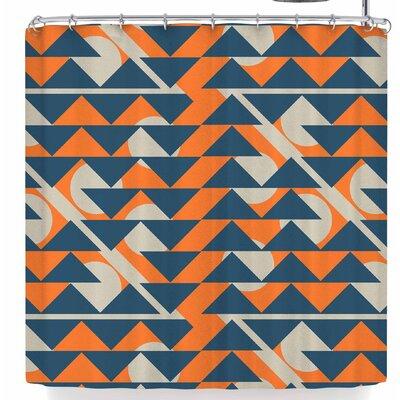 Famenxt Fun Geometric Shower Curtain
