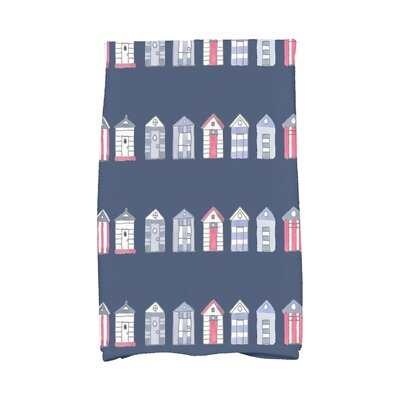 London Hand Towel Color: Navy Blue