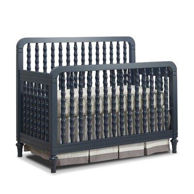 Jaden Lee 4-in-1 Convertible Crib Color: Navy