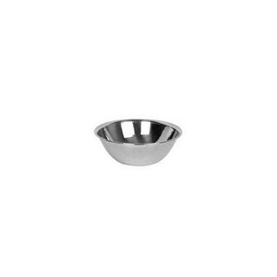 "Stainless Steel Mixing Bowl Size: 3.4"" H x 10.6"" W x 10.6"" D"
