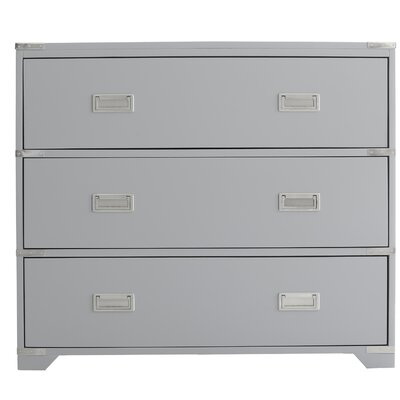 O'Connell 3 Drawers Accent Chest