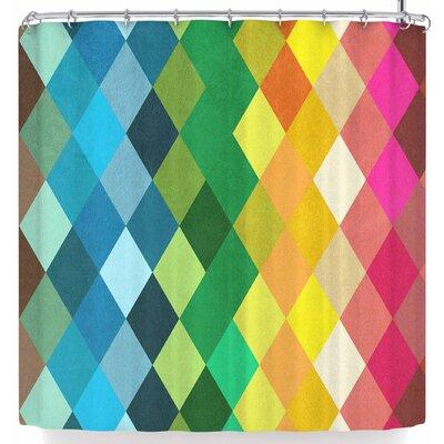 Tobe Fonseca Diamond Color Spectrum Shower Curtain