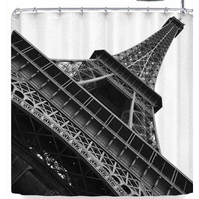 Susan Sanders Eiffel Tower Paris Shower Curtain