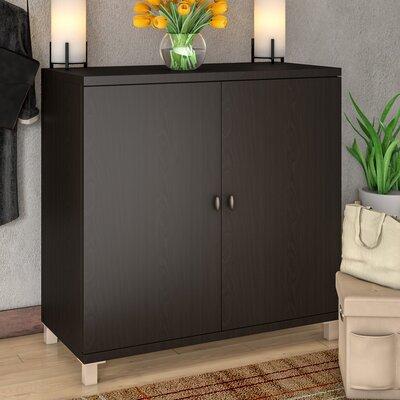 Spicer 2 Door Accent Cabinet Color: Espresso