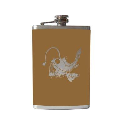 Villasenor Angler Flask Finish: Gold Metallic