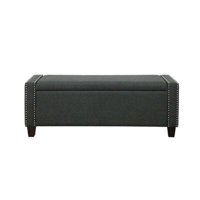Hemington Upholstered Storage Bench Upholstery: Dark Olive