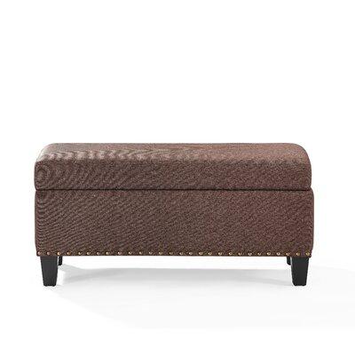 Auerbach Storage Bench Upholstery: Bourbon