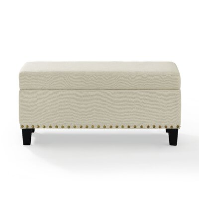 Auerbach Storage Bench Upholstery: Creme