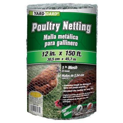 """Mesh Poultry Net Size: 11.88"""" H x 12.99"""" W x 7.48"""" D"""