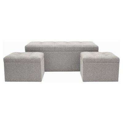 Cristian 3 Piece Bedroom Bench Set