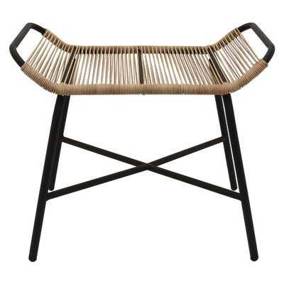 Troxel Metal and Plastic Accent Stool