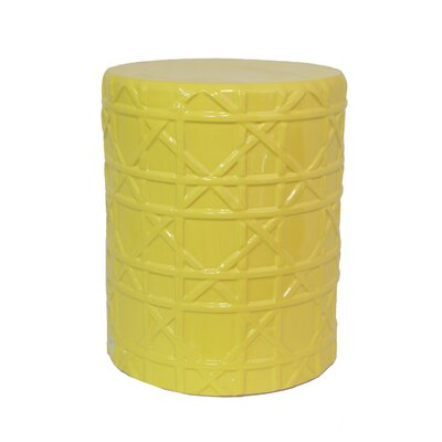 Elliot Garden Stool Color: Yellow
