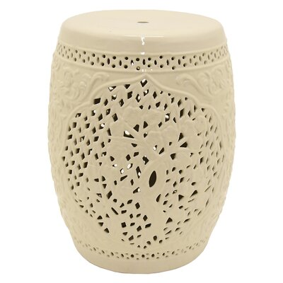 Hardt Garden Stool Color: White