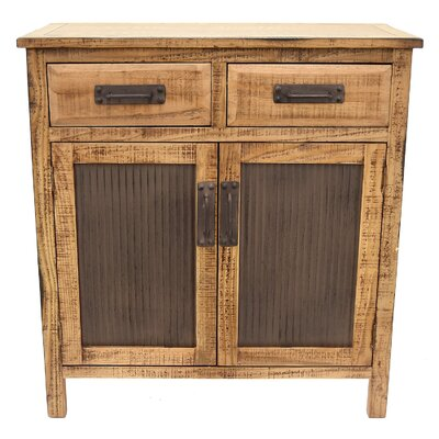 Palazzolo 2 Drawer Accent Cabinet