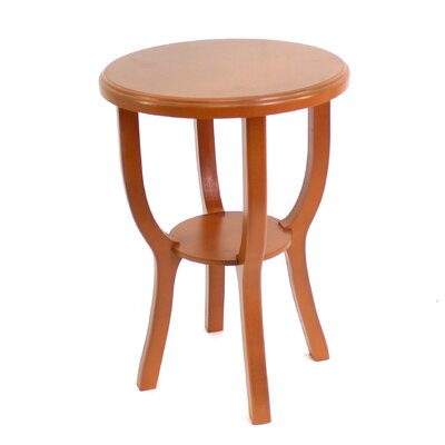 Collett Style Light Wooden Accent Stool Color: Gray