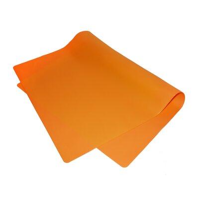 Non-Stick Silicone Baking Mat Color: Orange