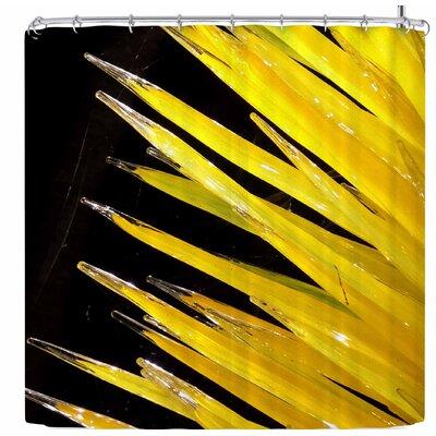 Rosie Brown Glass Art Shower Curtain