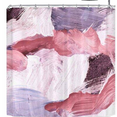 Iris Lehnhardt Abstract Brush Strokes Shower Curtain
