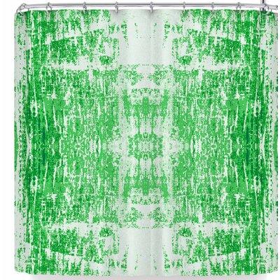 Carollynn Tice Shamrock Shower Curtain