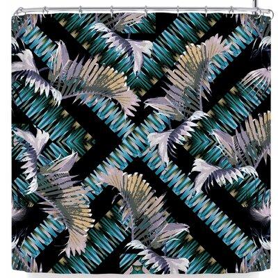 Victoria Krupp Palm Twist Shower Curtain