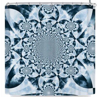 Suzanne Carter Kaleidoscope Forest Shower Curtain