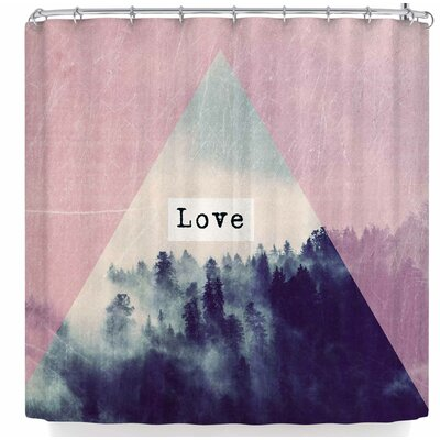 Suzanne Carter Love Shower Curtain