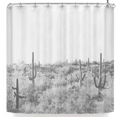 Sylvia Coomes Cactus Shower Curtain