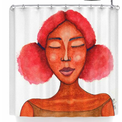 Stacey-Ann Cole Five Minutes of Peace Shower Curtain