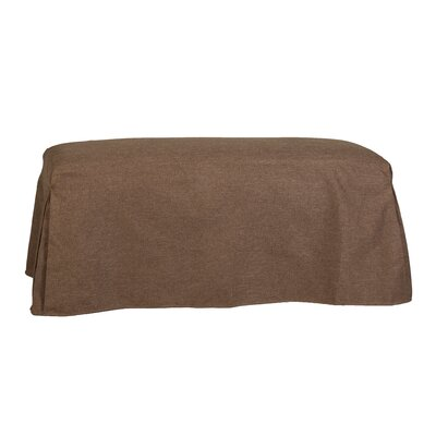 Copeland Tailored Slipcover Bench Upholstery: Lisburn Rattan