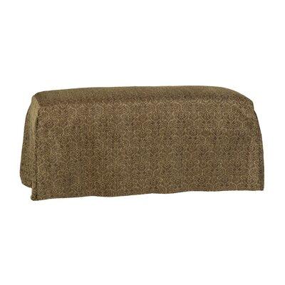 Copeland Tailored Slipcover Bench Upholstery: Portigo Saddle