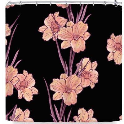 Victoria Krupp Good Night Floral Shower Curtain
